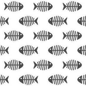 Dark Grey Fishes
