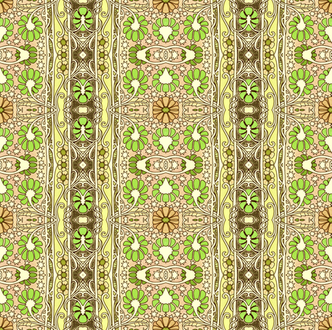 The Growing of the Green fabric by edsel2084 on Spoonflower - custom fabric