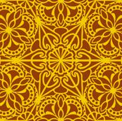 Kaleidoscope Retro B/Y