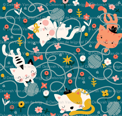 Yarn and Kitty's