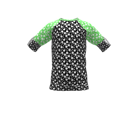 Golf Balls and Tees Black and White