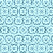 Turquoise Daisy Lace