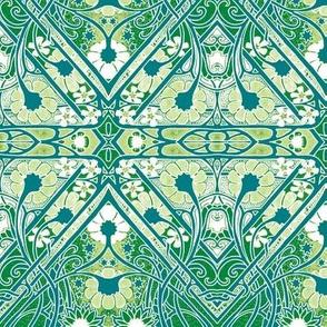 Green Stalks in Spring