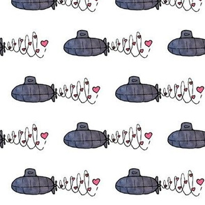 Submarines on a Sweetheart Patrol