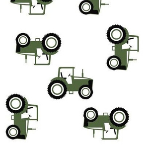 Tractor Toss on Timber green