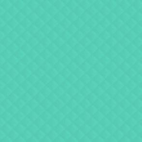 Tiffany Aqua Blue Puffy Quilted Pattern