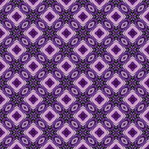 Needlepoint in Purple