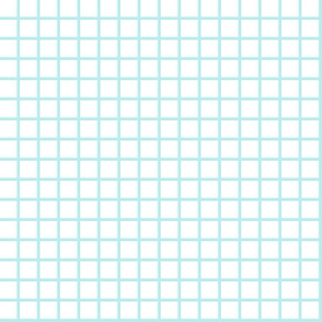 grid // light blue grid fabric graph paper design math 80s90s design