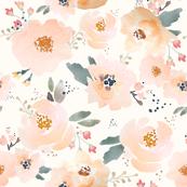 Green Peachy Blossoms C