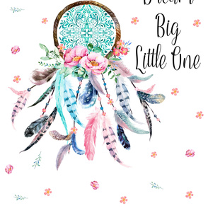 "56"" x 72"" - Cotton Sateen - Dream Big Little One 2 Yards"