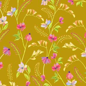 Raised Amongst the Wildflowers Mustard