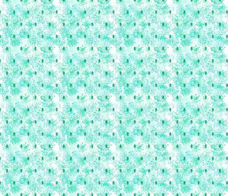 dotty_forest_mint fabric by digital_bath on Spoonflower - custom fabric