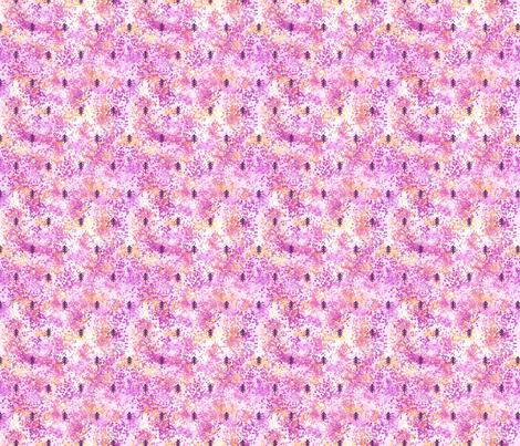 dotty_forest_sunset fabric by digital_bath on Spoonflower - custom fabric