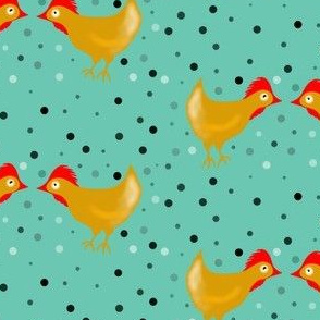 chicky doodle doo and dots