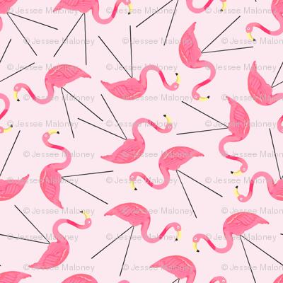 Large Lawn Flamingos - Pink