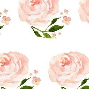 Swan Rose Floral