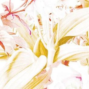 Tropical Bright Autumn Roses