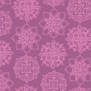 Lilac Mandalas