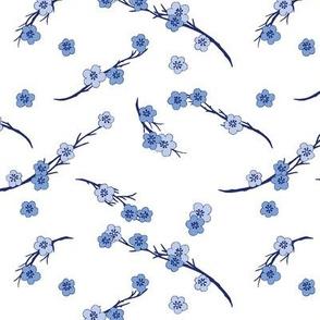 Cherry Blossom Girl White