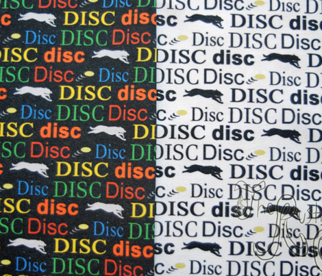 Disc! - colorful vertical