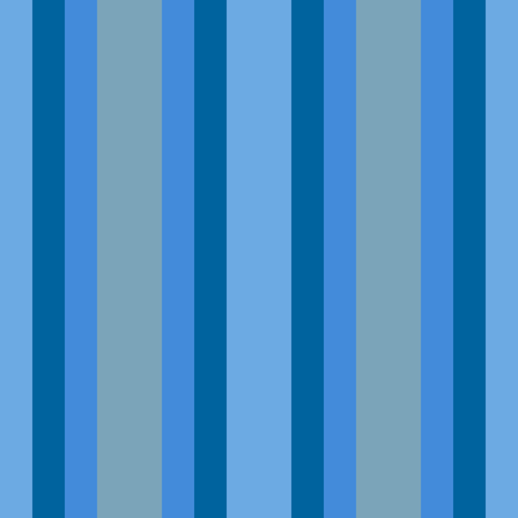 Winter Blues Stripes fabric by anniedeb on Spoonflower - custom fabric