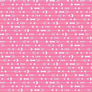 live free : love life arrows pink