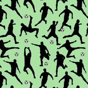 Soccer Players // Light Green // Small