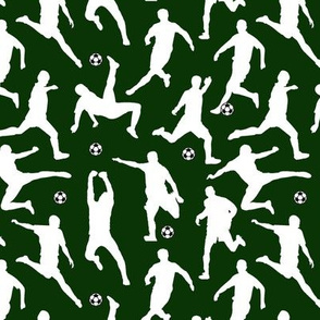 Soccer Players // Dark Green // Small
