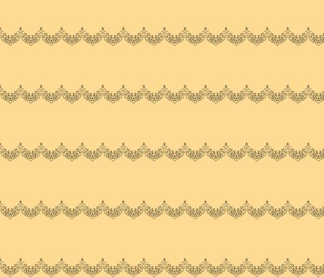 TINY - Peach Scallops fabric by kaedralynn on Spoonflower - custom fabric