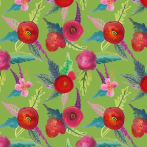 Island Poppies // Greenery