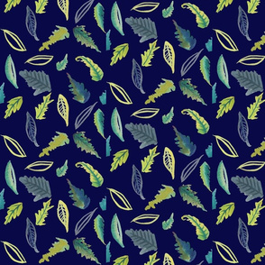 Leaves of Provo // Navy