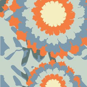 Urchin Paradise orange