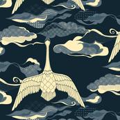 Sewn Across the Sky - Indigo