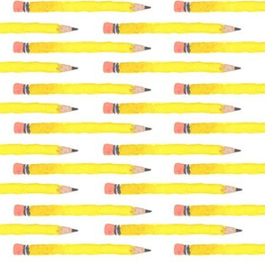 bouquets of freshly sharpened pencils