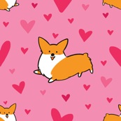 Happy Heart Corgi