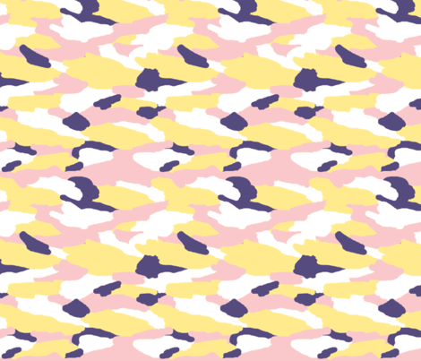 Camo 4 - Sunny ocean fabric by drapestudio on Spoonflower - custom fabric