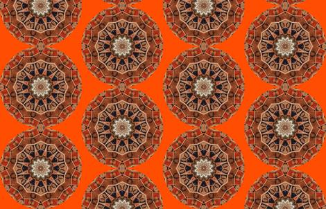 Fruit_Mandala05 fabric by mishimoqua on Spoonflower - custom fabric