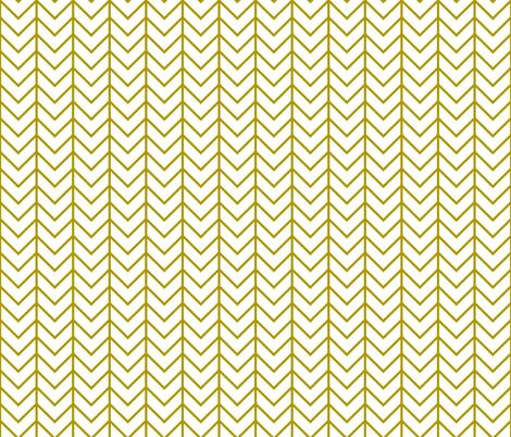 mustard chevron fabric by ivieclothco on Spoonflower - custom fabric