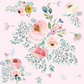 """6"""" April Love / Full Bloom - Pink"""