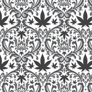 FILIGREE: CANNABIS LEAF