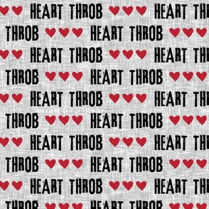 Heart Throb || valentines fabric