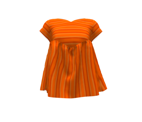 Summer Orange Stripes