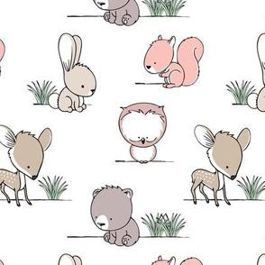 woodland babies || v2 grass