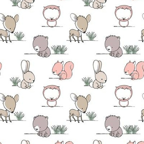 woodland babies || v2 with grass
