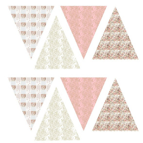 bunting_cut_out_on_wallpaper