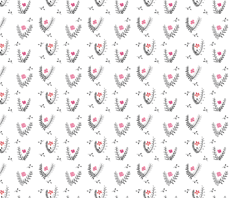 vintage wallpaper fabric by meissa on Spoonflower - custom fabric