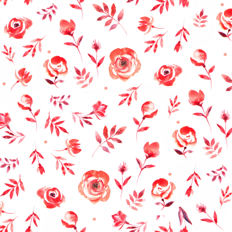 Petals fabric by dariara on Spoonflower - custom fabric