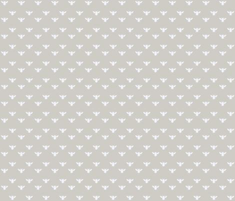 Bee Linen fabric by blackwooddesign on Spoonflower - custom fabric