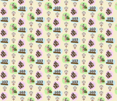 Little Carmelites  fabric by saintly_stitches on Spoonflower - custom fabric