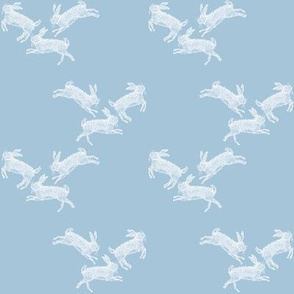 Running_Rabbits_Blue_Linen